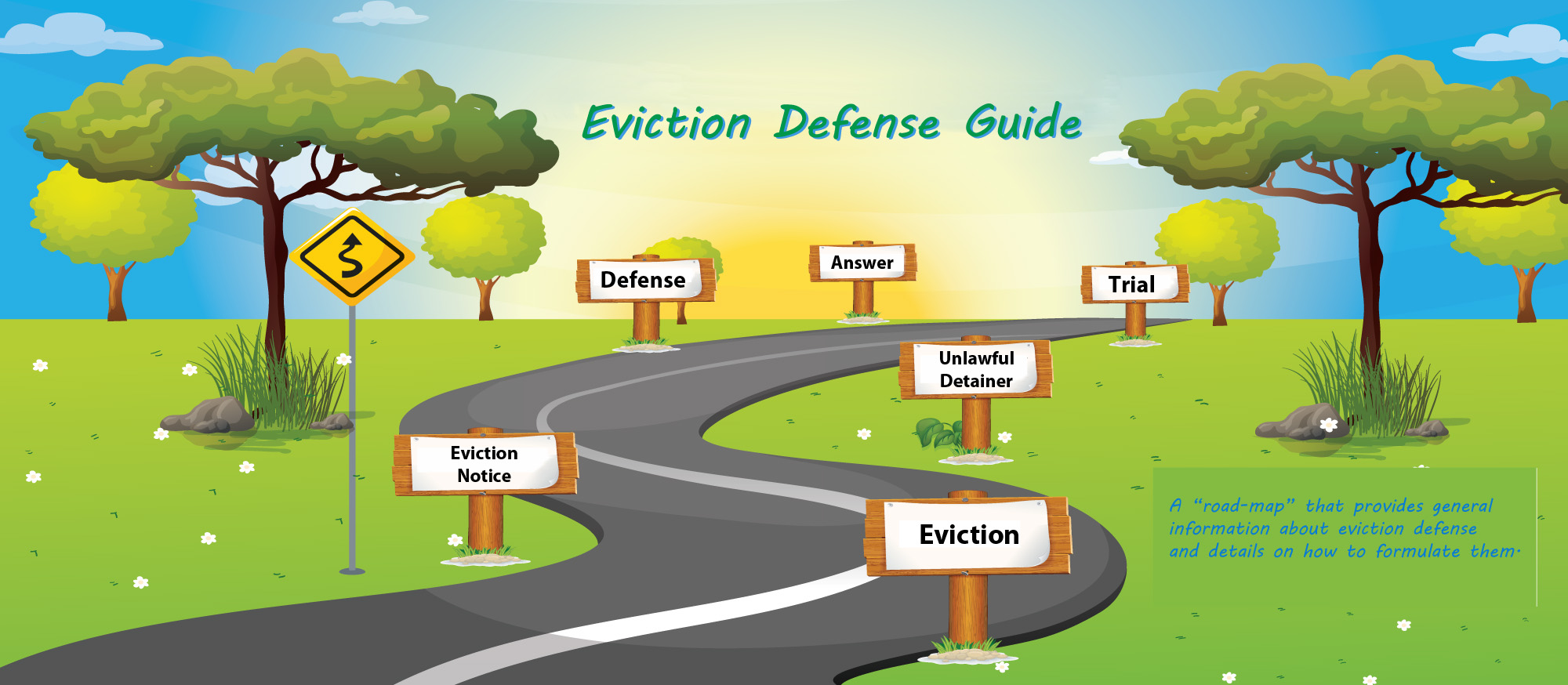 Eviction Defense Map